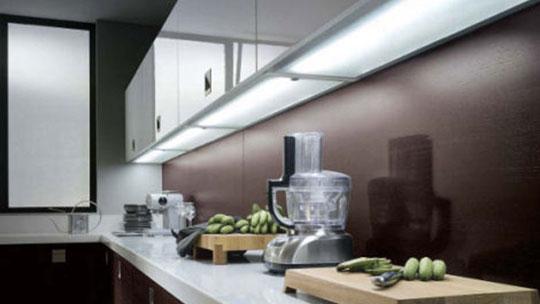 Osvětlení kuchyně - světelná dna